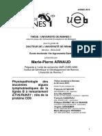 UNIVERSITÉ DE RENNES 1Physiopathologie des