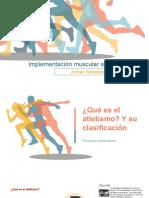 Implementación muscular en el atletismo