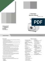 Autoclave Operation Manual c