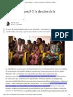 ¿Parezco indígena_ O la elección de la identidad _ by Kalinda Marín _ Medium