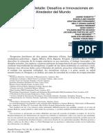 Robert et all (2014) Una Mirada en Detalle, Desafios e Innovaciones en Terapia Familiar Alrededor del Mundo