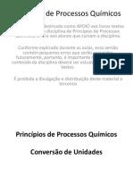 Principios de Processos Químicos 1