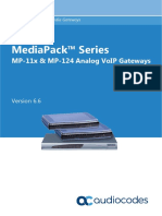 Ltrt 65437 Mp 11x and Mp 124 Sip Users Manual Ver 66