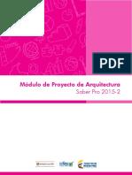Guia de orientacion modulo de proyecto de arquitectura saber pro 2015 2