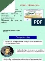HIDROLOGIA- Evotranspiracion