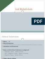 Ethical Relativism Final