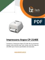 Impressora_Argox_CP_2140e