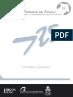 Literatura Espanola - Maria del Prado Escobar Bonilla y Juan Jes