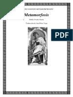 Ovidio, Metamorfosis. Dédalo e Ícaro