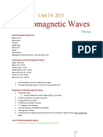 2011-01-22 U14 Electromagnetic Waves