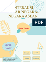 INTERAKSI ANTAR NEGARA-NEGARA ASEAN