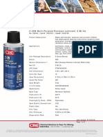 CRC 02004 2-26 Multi Precision Lubricant Sell Sheet