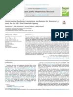 Understanding foodborne transmission mechanisms for Norovirus
