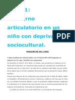 CASO 1. trastorno articulatorio con deprivación sociocultural