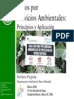 Pagos por  Servicios Ambientales. Principios y Aplicación