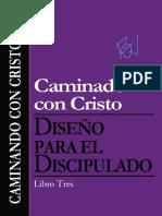 Diseño para el discipulado, caminando en Cristo