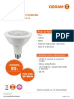 Datasheet - LED PAR38