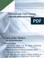 Maternal and Child Nursing