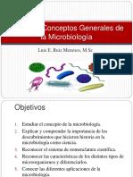 1. Historia y Conceptos Generales de la Microbiología