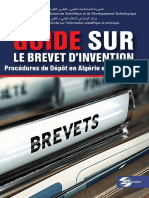 Guide sur le Brevet D'invention _Procedures de dépôt en Algérie et à l'étranger.pdf