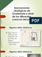 2. HISTORIA DE LA HIDROLOGÍA y el ciclo hidrológico
