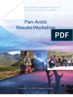 Pan Arctic Results Workshop Agenda