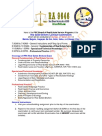 PRC - 2011 RES Broker's Board Exam Program