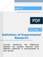 Experimental Research keguruan