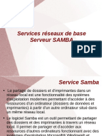 Serveur SAMBA  sous GNULinux