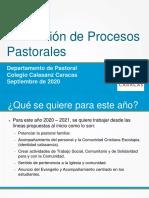 presentación de formacion de procesos pastorales