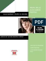 LIBRO FELIPE, EL OSCURO