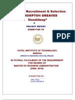 crompton greaves report