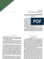 Sánchez. El texto del AT y El canon del AT, pp. 31-44 y 121-138