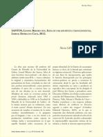 LEONEL RIBEIRO DOS SANTOS Ideia de uma Heurística Transcendental CFUL _Recensão de NÚRIA MADRID