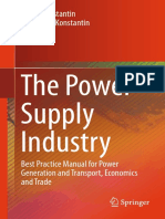 Panos Konstantin,Margarete Konstantin (auth.) -  The Power Supply Industry_ Best Practice Manual for Power Generation and Transport, Economics and Trade-Springer International Publishing (2018).pdf
