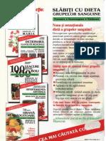 Anita Kosaris - Slabiti cu dieta grupelor sanguine #0.2~5