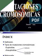 2. MUTACIONES CROMOSOMICAS