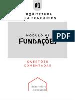 AULA01-FUNDAÇÕES-QUESTÕES COMENTADAS