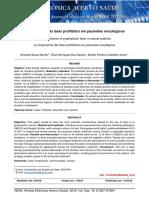 a importancia do laser profilatico em pacientes oncologicos 2018