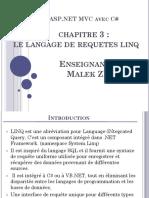Chapitre  3 Le Langage de requetes LINQ version ppt (1)