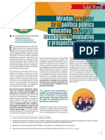 Miradas sobrela Politica Publica Educativa
