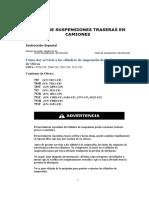 CARGA DE SUSPENCIONES TRASERAS DE CAMIONES