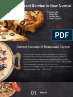 Pizza Restaurant PowerPoint Templates