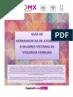 Guía de herramientas de atención a mujeres víctimas de violencia familiar