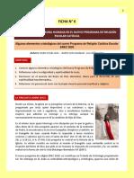 Ficha 6 Algunos elementos cristológicos en la EREC 2020