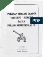 Meriam Gempur Banteng Blorok Dalam Perang Kemerdekaan