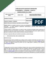 GUIA EDUCACION FISICA 1101 - 1102