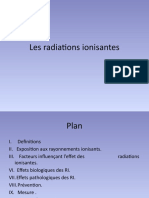 radiations ionisantes