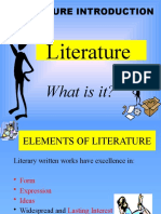 Introductory presentation about literary genres (1)