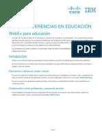 MANUAL Cisco WEBEX-Educamadrid